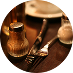 Leuchtkasten Restaurant