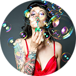 Leuchtkasten Tattoo