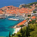 Leuchtkasten Zagreb & Dubrovnik